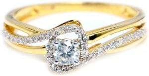 Midwest Jewellery 13cttw Diamond Promise Ring