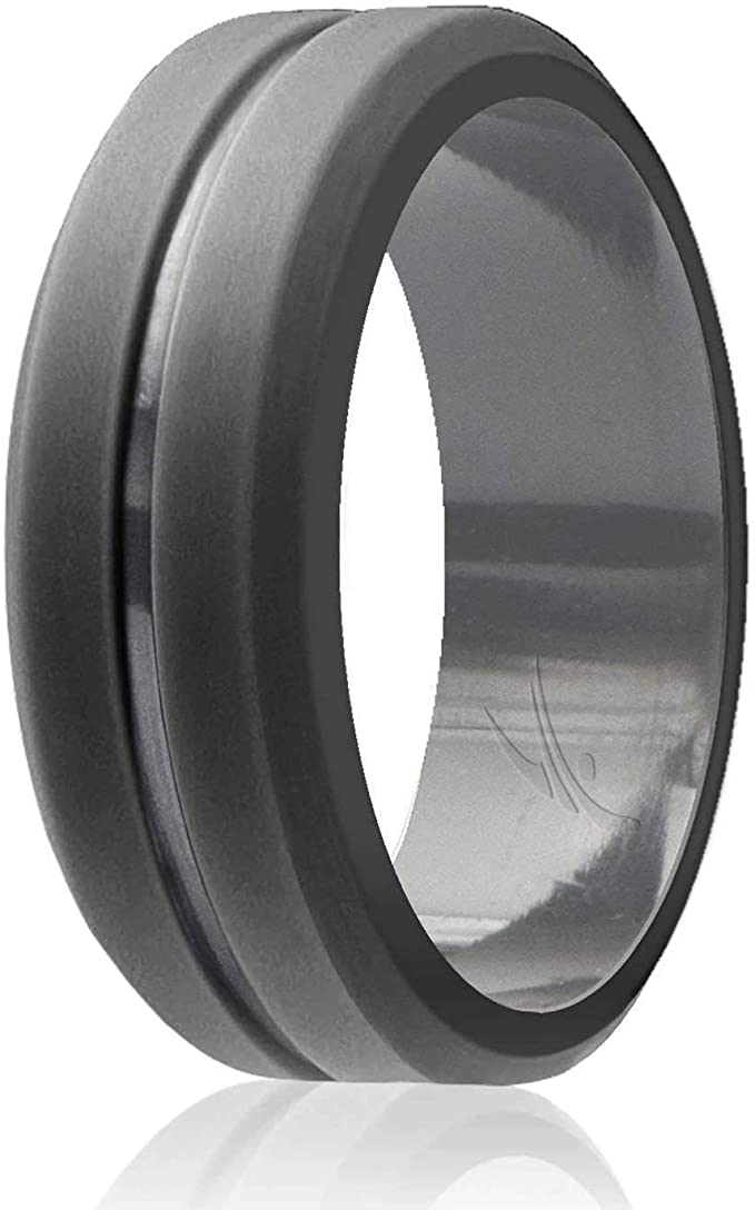 Silicone Wedding Ring for Men